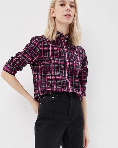 Фиолетовая рубашка Fred Perry