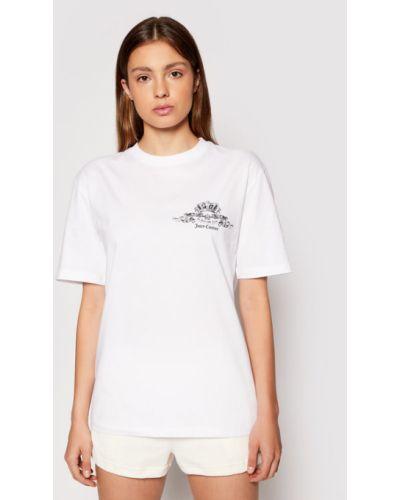 Biała t-shirt Juicy Couture