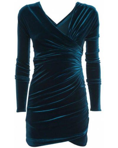 Niebieska sukienka Alexandre Vauthier