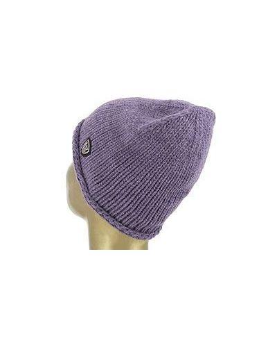 Фиолетовая шапка Ea7