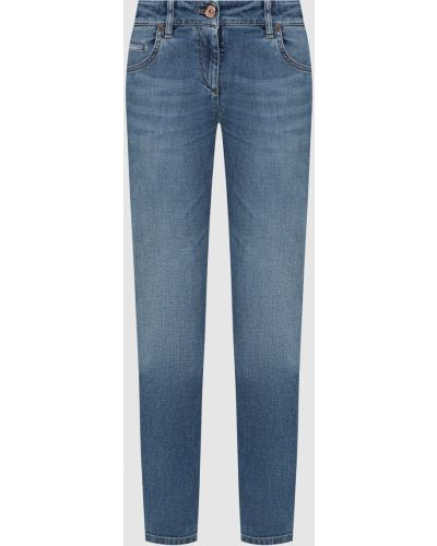 Синие джинсы Brunello Cucinelli