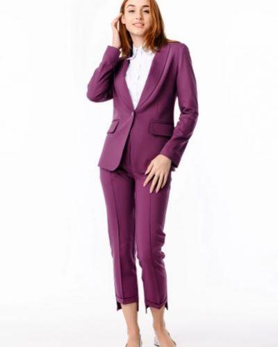 Пиджак удлиненный - фиолетовый Alito