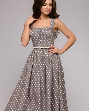 Летнее платье на бретелях повседневное 1001 Dress