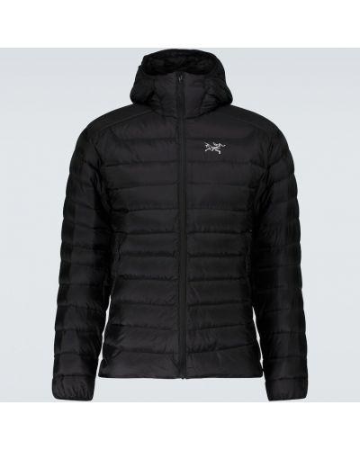 Утепленная куртка - черная Arcteryx