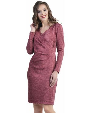 Вечернее платье с открытой спиной с запахом Odetta