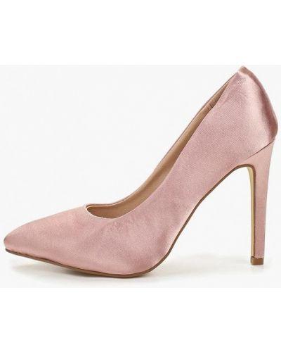 Туфли на каблуке лодочки розовый Ws Shoes