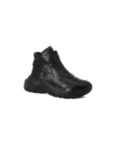Кроссовки черные Gianni Renzi