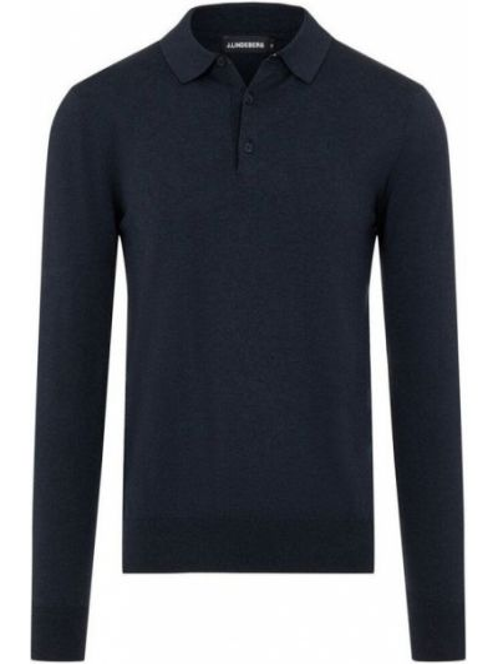 Koszulka bawełniana - niebieska J.lindeberg