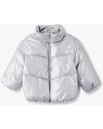 Утепленная серебряная куртка Sela
