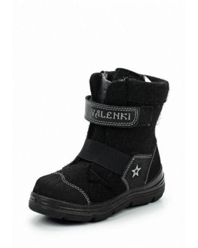 Ботинки черные котофей