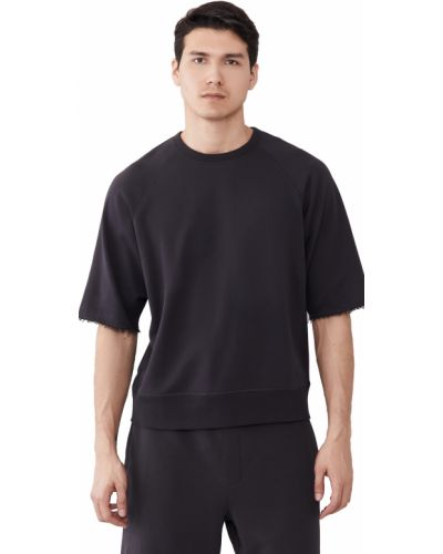Bluza dresowa bawełniana krótki rękaw miejska Rag & Bone