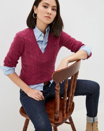 Розовый пуловер Polo Ralph Lauren