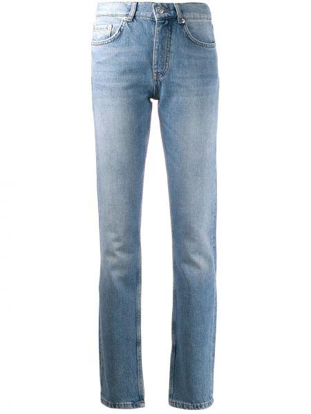 Прямые джинсы синие Ganni
