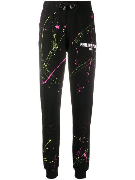 Спортивные брюки зеленый розовый Philipp Plein