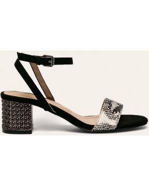 Czarne sandały Corina