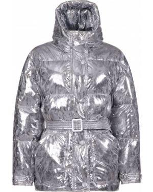 Куртка из полиэстера - серебряная Marco Del Forte