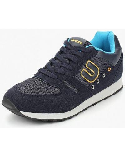 Кроссовки замшевые синий Umbro