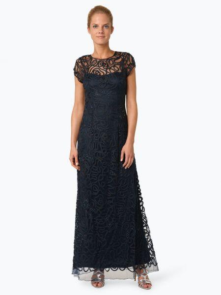 Sukienka z perłami przezroczysty Niente