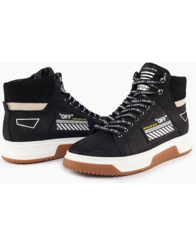 Кроссовки - черные Konors
