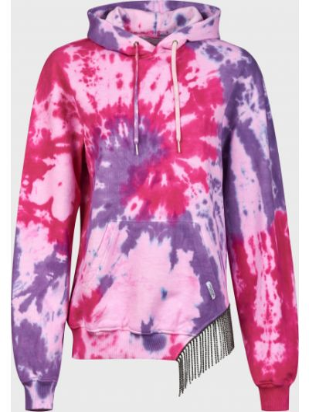 Хлопковое худи - розовое Forte Dei Marmi Couture