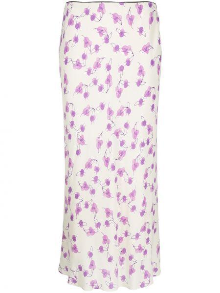 Юбка миди с завышенной талией фиолетовый Dorothee Schumacher