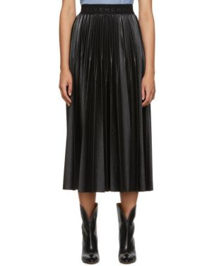 Плиссированная юбка пачка черная Givenchy