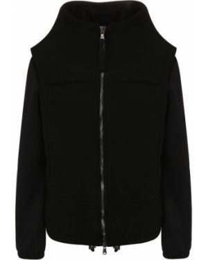 Шерстяная куртка - черная Roque