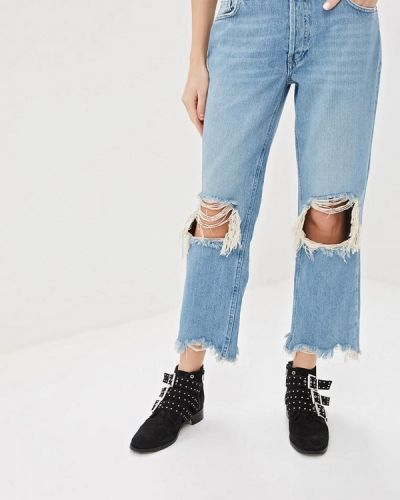 Прямые джинсы турецкий Free People