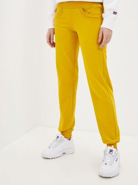 Спортивные желтые спортивные брюки Mana