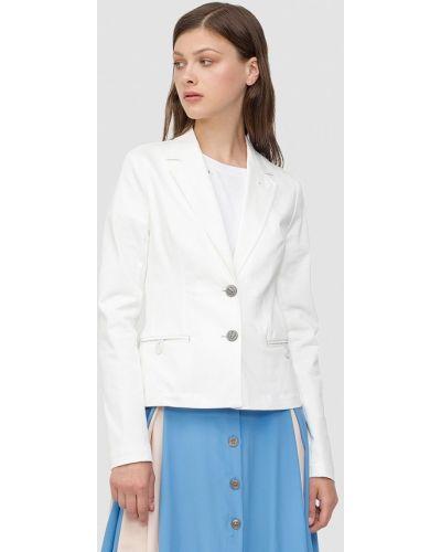 Белый пиджак осенний Dolcedonna