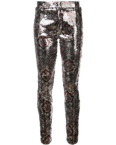 Серебряные леггинсы Isabel Marant