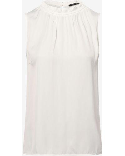 Bluzka elegancka z falbanami bez rękawów Betty Barclay