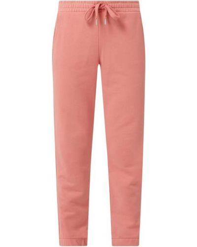 Różowe spodnie bawełniane Tom Tailor