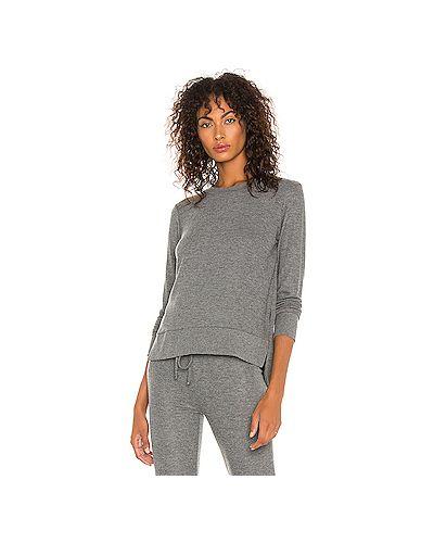 Серый свитер из вискозы для йоги Beyond Yoga