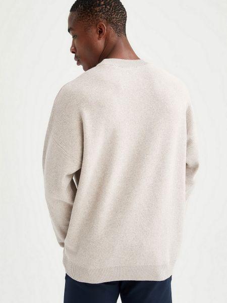 Пуловер - бежевый Defacto