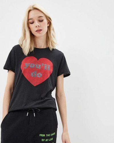 Черная футболка Zoe Karssen