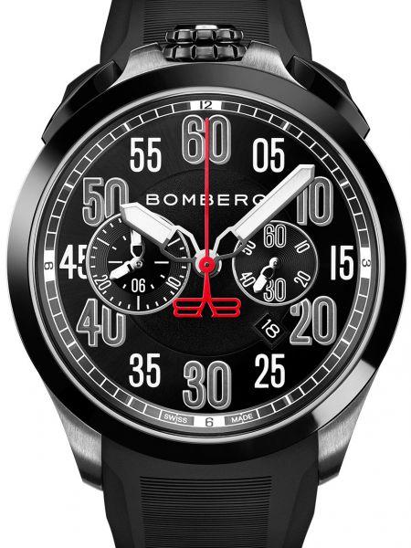 Часы водонепроницаемые силиконовые швейцарские Bomberg