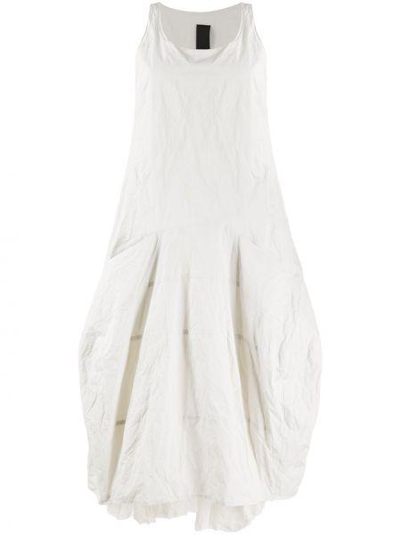 Платье оверсайз без рукавов с вырезом металлическое Rundholz
