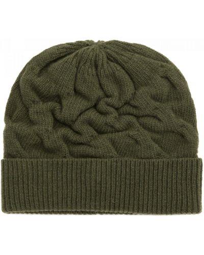 Трикотажная шапка - зеленая Carlo Visintini