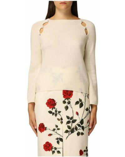 Biały sweter Anna Molinari