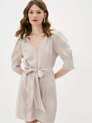 Серебряное платье-футляр Twist & Tango