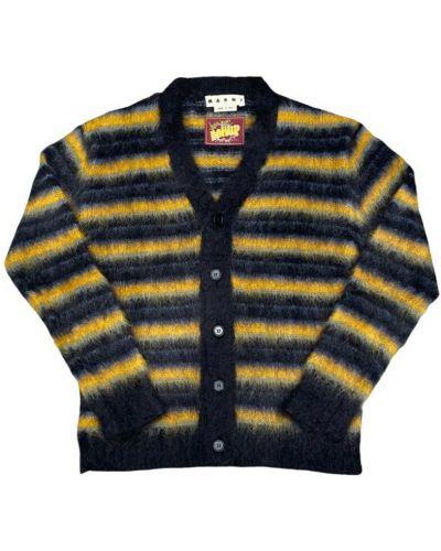 Czarny sweter moherowy Marni