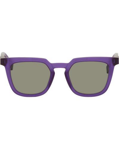 Białe okulary srebrne Maison Margiela