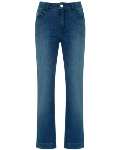 Укороченные брюки расклешенные свободные Tufi Duek
