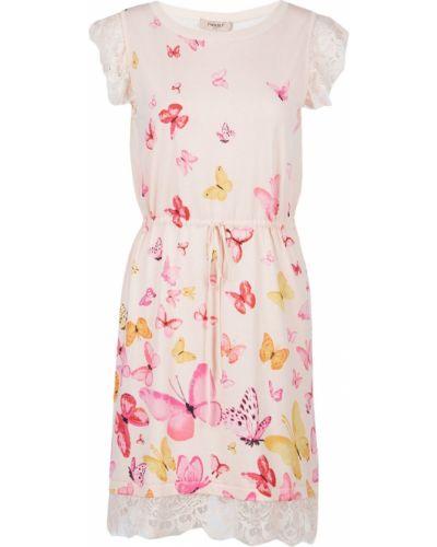 Летнее платье розовое ажурное Twin-set