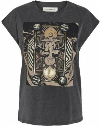 T-shirt - szara Sofie Schnoor
