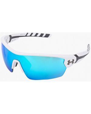 Муслиновые белые солнцезащитные очки Under Armour
