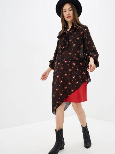Платье - черное Adzhedo
