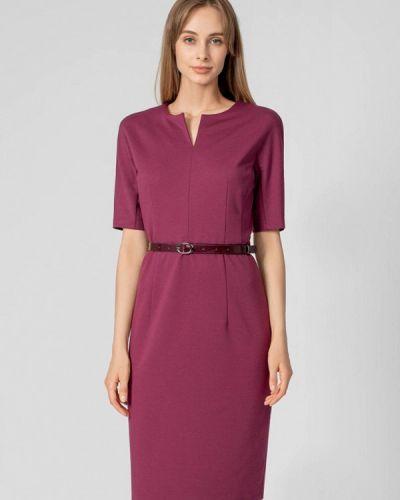 Фиолетовое прямое платье Pompa