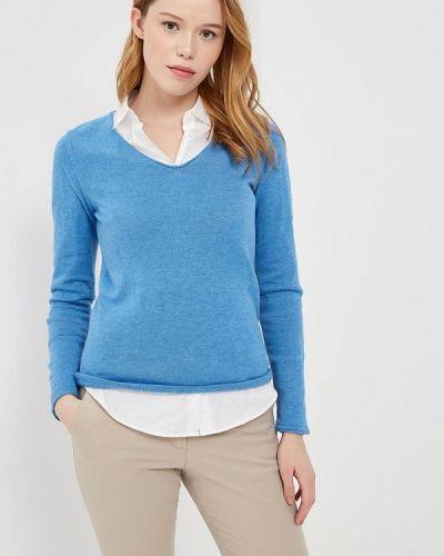 Голубой пуловер Tom Tailor